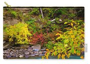 Splash Of Color Along The Creek Carry-all Pouch