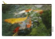 Splash Of Koi Carry-all Pouch