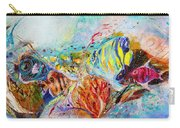 Splash Of Life #14 Red Sea  Carry-all Pouch