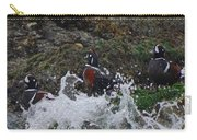 Splashed At Haystack Rock Carry-all Pouch