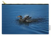 Splashing Cormorant Carry-all Pouch
