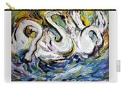 Splashing Swans Carry-all Pouch
