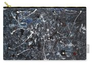 Splattered - Grey Carry-all Pouch