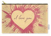 Splattered Love Carry-all Pouch