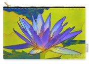 Splendid Water Lily Carry-all Pouch
