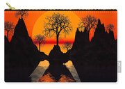 Splintered  Sunlight Carry-all Pouch