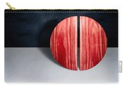 Split Circle Red Carry-all Pouch