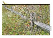Split Rail Fence And Poison Ivy Carry-all Pouch