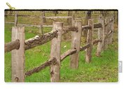 Split Rail Fence Carry-all Pouch