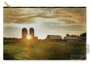 Split Silo Sunset Carry-all Pouch
