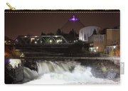 Spokane Falls Night Scene Carry-all Pouch