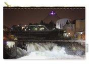Spokane Falls Night Scene Carry-all Pouch