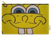 Sponge Square Yellow Brown Pants Cartoon Carry-all Pouch