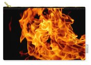 Spooky Hot Spirit Fire Michigan Carry-all Pouch