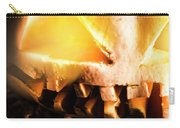 Spooky Jack-o-lantern In Darkness Carry-all Pouch