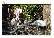 Spoonbill Family Carry-all Pouch