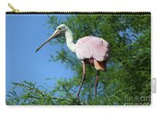 Spoonbill In A Tree Carry-all Pouch