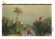 Spoonbills In The Mist Carry-all Pouch