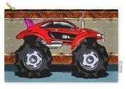 Sports Car Monster Truck Carry-all Pouch