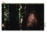 Spotlight In The Woods Carry-all Pouch