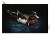 Spotlight On A Wood Duck Carry-all Pouch