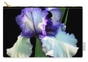 Spotlight On 'freedom Song' Bearded Iris Carry-all Pouch