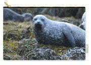Spotted Coat Of A Harbor Seal Carry-all Pouch