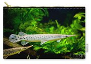 Spotted Gar Aquarium Fishes Pair Carry-all Pouch