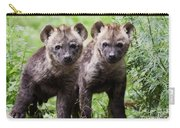 Spotted Hyena Cubs I Carry-all Pouch