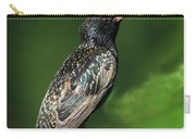 Spotted Starling Carry-all Pouch
