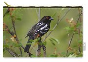 Spotted Towhee Carry-all Pouch