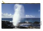 Spouting Horn Blow Hole Carry-all Pouch