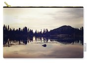 Sprague Lake At Sunset Carry-all Pouch