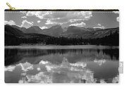 310204-bw-sprague Lake Reflect Bw  Carry-all Pouch