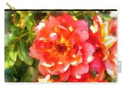 Spread Petals Of A Red Rose Carry-all Pouch