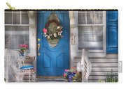 Spring - Door -  A Bit Of Blue  Carry-all Pouch