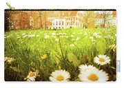 Spring. A Medow Spread With Daisies In Baden-baden, Germany Carry-all Pouch