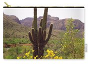 Spring Along Salt River Carry-all Pouch