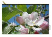 Spring Apple Blossoms Pink White Apple Trees Baslee Troutman Carry-all Pouch