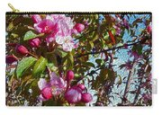 Spring Apple Blossoms- Spring Flowers Carry-all Pouch