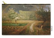 Spring At Barbizon Carry-all Pouch by Jean Francois Millet