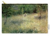 Spring At Chatou Carry-all Pouch by Pierre Auguste Renoir