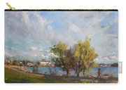 Spring At Gratwick Waterfront Park Carry-all Pouch