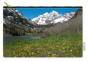Spring At The Maroon Bells Carry-all Pouch by Cascade Colors
