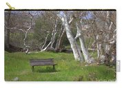 Spring Bench In Sycamore Grove Park Carry-all Pouch