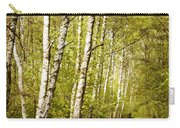 Spring Birches Woods Footpath Carry-all Pouch