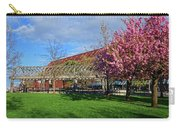 Spring Bloom At Christopher Columbus Park Boston Ma Cherry Blossoms Carry-all Pouch
