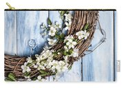 Spring Blossom Wreath Carry-all Pouch
