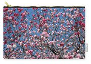 Spring Blossoms Against Blue Sky Carry-all Pouch