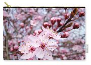 Spring Blossoms Art  Pink Tree Blossom Baslee Troutman Carry-all Pouch